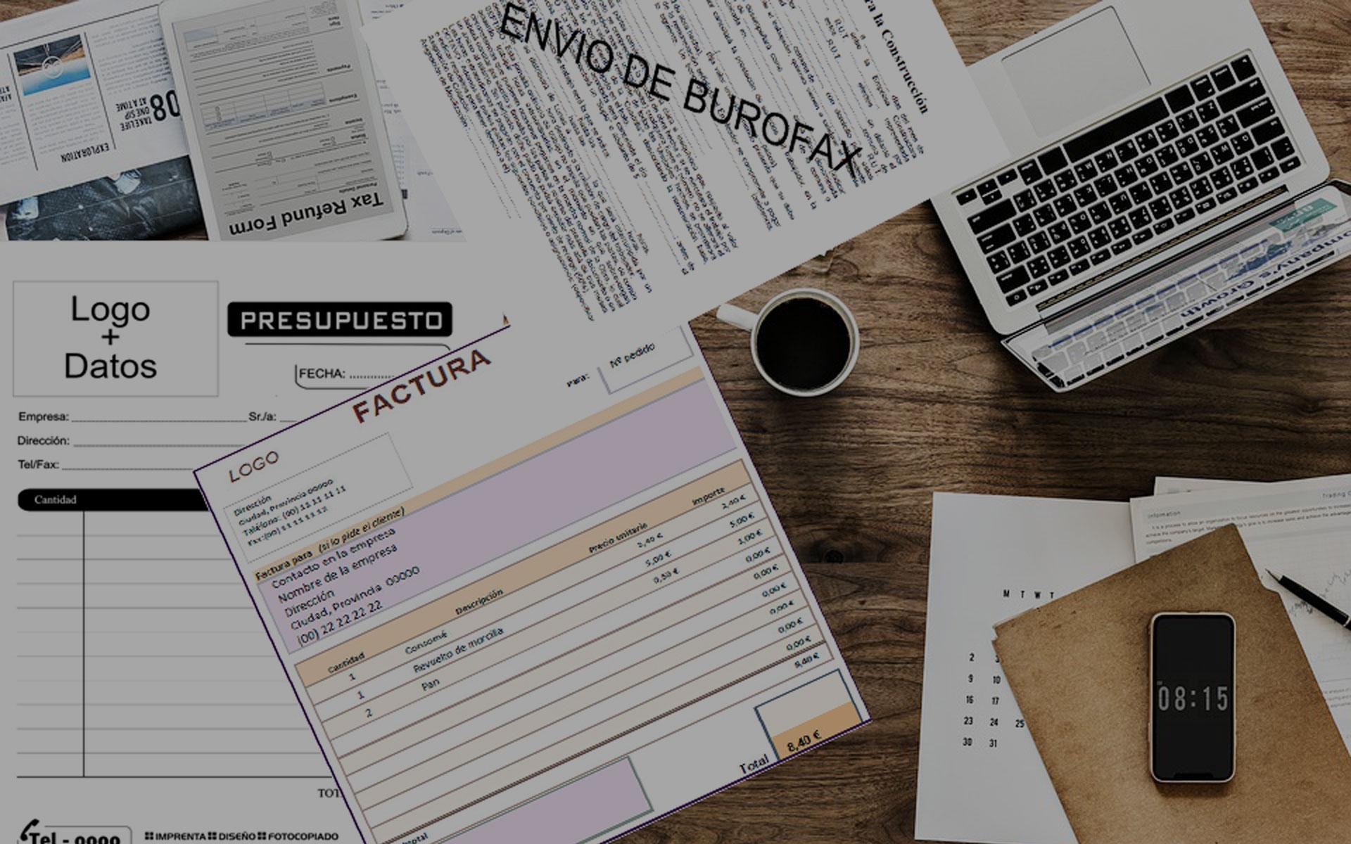 elaboracion presupuesto factura