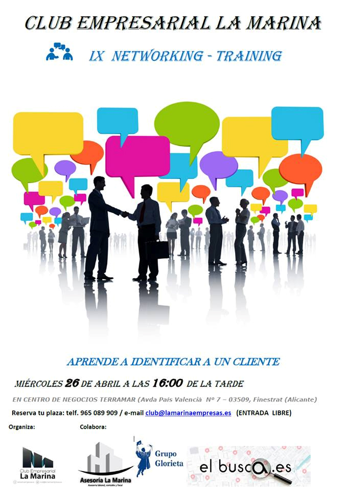 IX NETWORKING ABRIL 2017