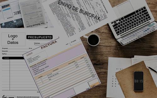 Elaboración presupuestos y facturas