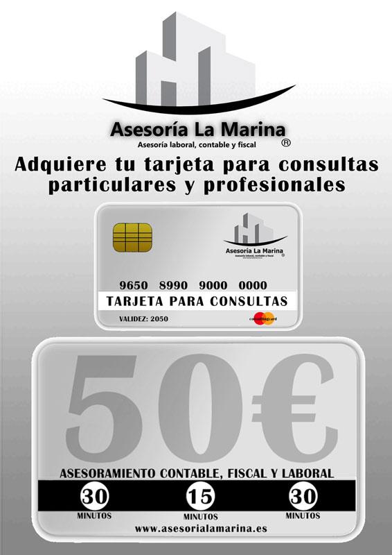 Tarjeta Sorteos 50€
